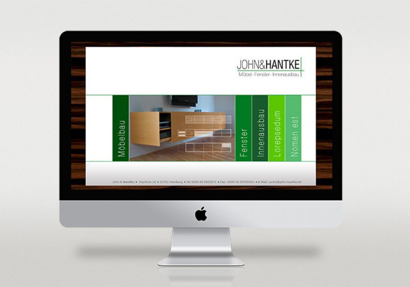 John & Handtke Webseite