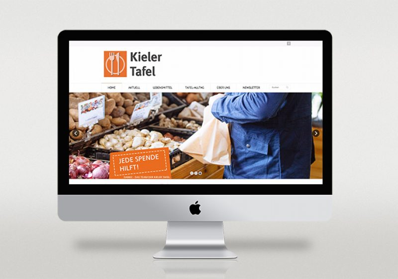 Responsive Website Kieler Tafel