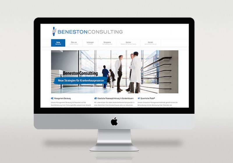 Responsive Webseite BenestonConsulting