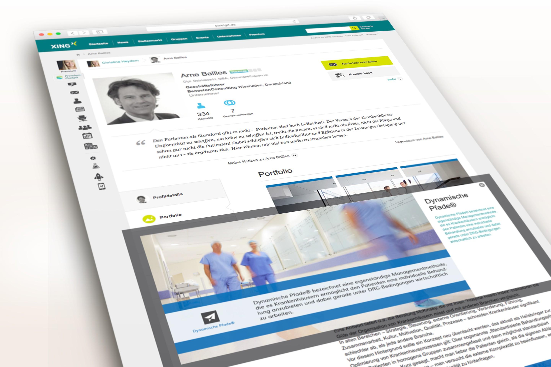 Beneston Consulting |Arne Ballies XING Portfolio 07