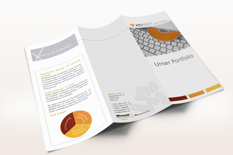 edvXpert Unternehmens Folder
