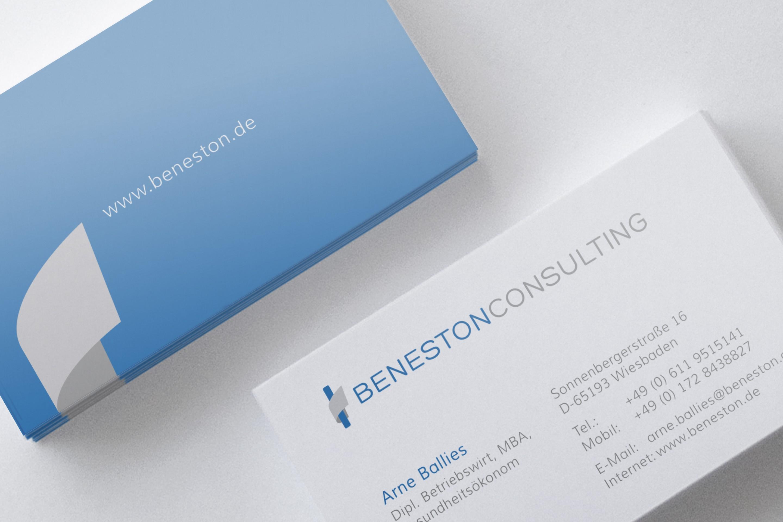 Beneston | Arne Ballies Visitenkarten