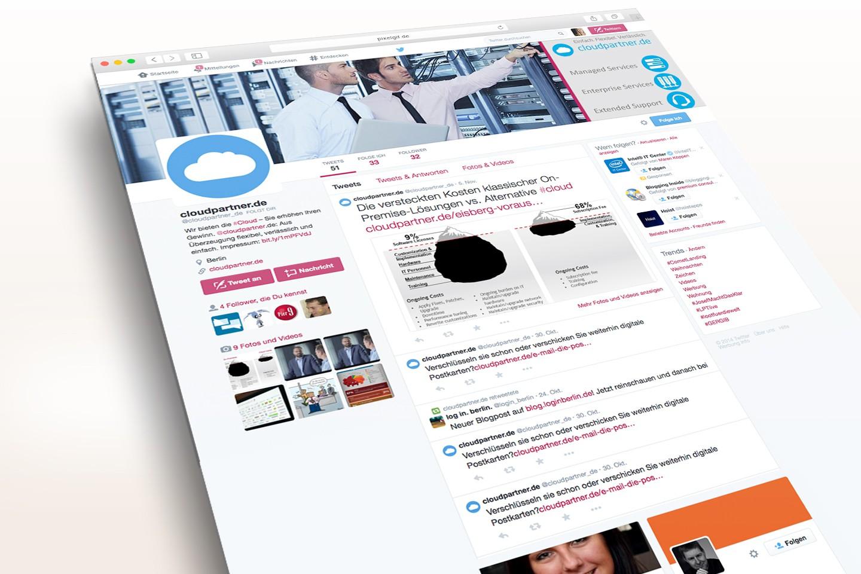 Cloudpartner Twitter Unternehmensprofil