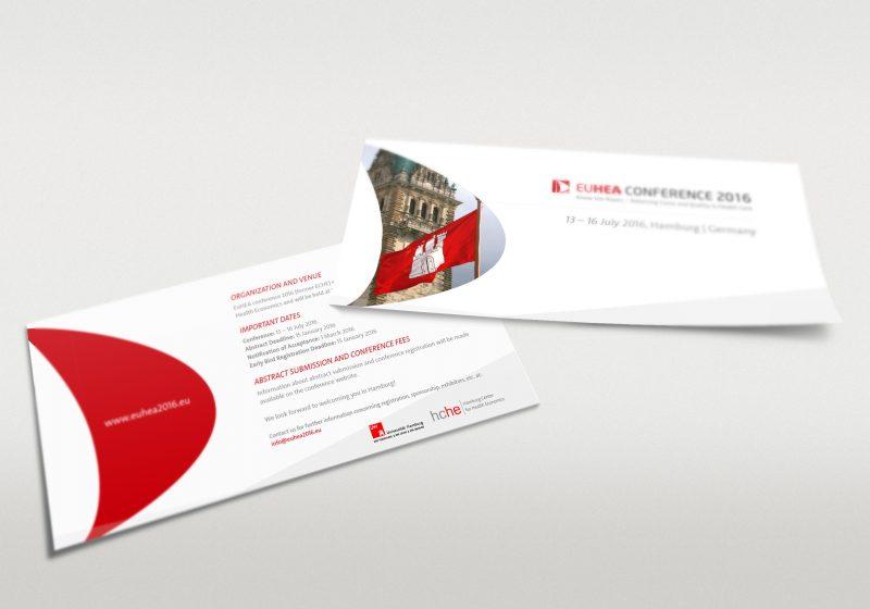Konferenz Flyer für die HCHE EUHEA Konferenz