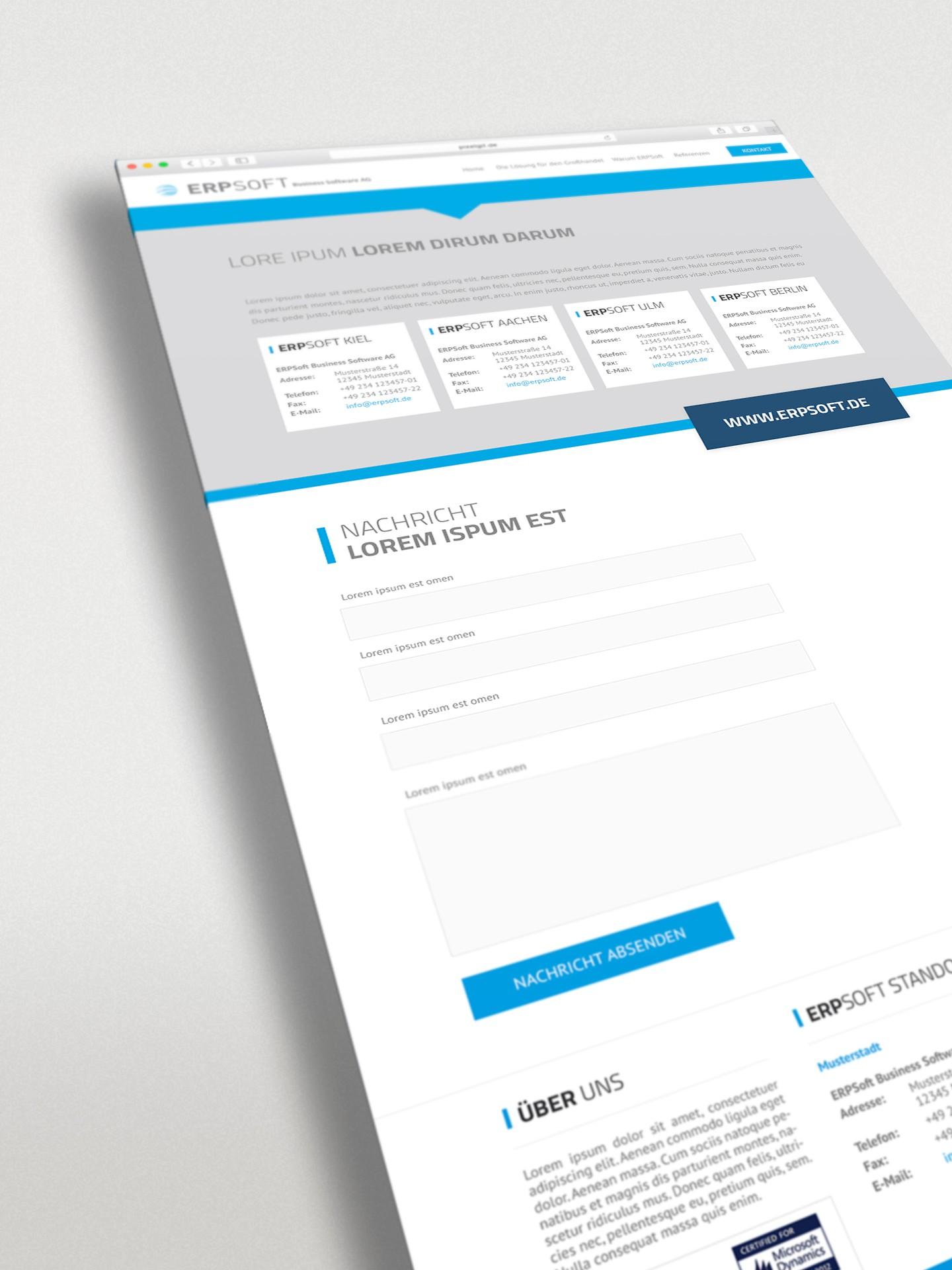 Landingpage IT-Systemhaus